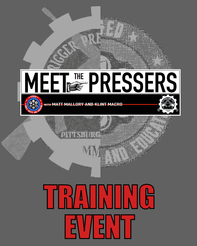 Meet the Pressers Zoom Training